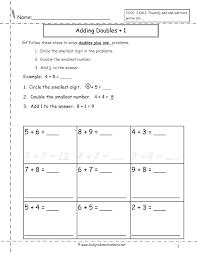 Adding Worksheets Kindergarten Math Free Single Digit Addition ...