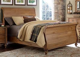 Pine Wood Bedroom Furniture Full Size Furniture Pine Spruce Day Bed Frame Espresso Finish