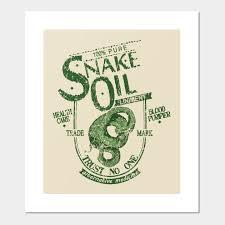 Snake Oil Chart Snake Oil