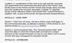 Free Florida Residential Lease Agreement Template – Pdf – Word ...