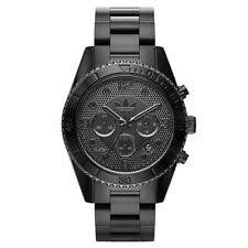 mens adidas watch adidas men s brisbane sports chronograph black watch adh2983