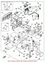 Stunning yamaha outboard wiring harness diagram pictures yamaha outboard rigging 1994 1996 remote control 5 703