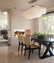 dining room ceiling lights inspirations including flush mount light leather images rectangular capiz shell
