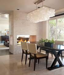 dining room ceiling lights inspirations including flush mount light leather images rectangular capiz shell