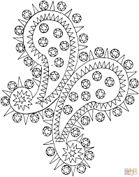 Small Picture Paisley coloring page Free Printable Coloring Pages