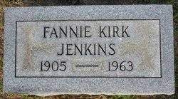 "Frances Jewell ""Fannie"" Kirk Jenkins (1905-1963) - Find A Grave Memorial"