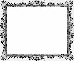 Black And White Frame Free Ppt Backgrounds For Your Powerpoint Templates