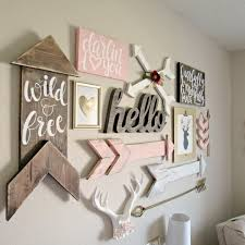 girl nursery wall decor