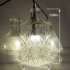 holigoo modern glass pendant lamp nordic dining room wine bottle wine bottle pendant light fixtures wine bottle pendant light uk