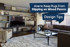 rugs for wood floors. How To Keep Rugs From Slipping On Wood Floors : Design Tips For M