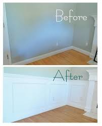 46 awesome diy picture frame wainscoting