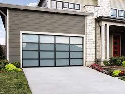 modern glass garage doors portland or