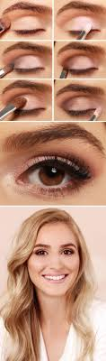 27 pretty makeup tutorials for brown eyes makeup for brown eyes tutorialnatural