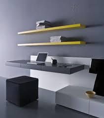 wall mounted desk minimalist home