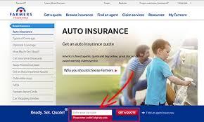 Farmers Auto Quote Free Farmers AutoCar Insurance Quote 41