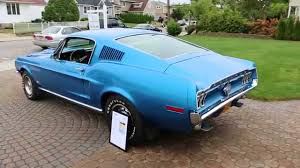 SOLD~~1968 Ford Mustang GT Fastback For Sale~428 SCJ~4 Speed~ALL ...