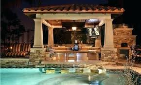 Outdoor Kitchen Designs With Pool New Design Inspiration