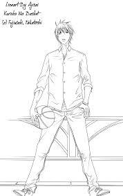 Coloriage A Imprimer Kuroko Basket Meilleures Id Es Coloriage