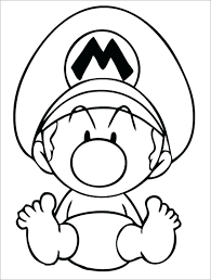 Coloring Pages Mario Coloring Pages Free Online Printable Super