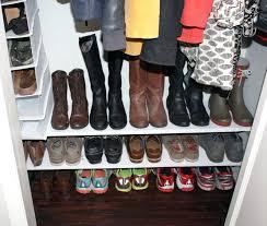 diy shoe rack for closet shoe shelves diy shoe rack for closet plans