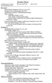 gpa in resumes resume types and samples