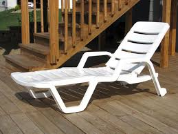 lovely resin chaise lounge miracle adams mfg corp white stackable