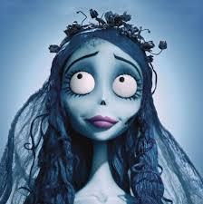 makeup looks ideas for tim burton corpse bride character