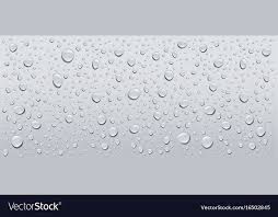 Water Droplets Background Gray Water Droplets Background Royalty Free Vector Image
