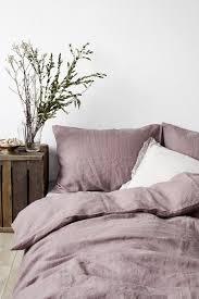 stone washed linen bedding. Beautiful Stone EU Dark Lavender Stone Washed Linen Bed Set To Bedding N