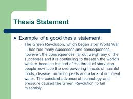 Thesis Statement ppt Pinterest