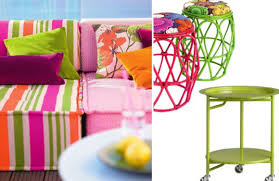 outdoor furniture colors. Cheerful Outdoor Furniture And Fabrics Colors A