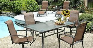 10 piece patio set essential garden piece dining set 10 piece patio set kmart broyerk blue