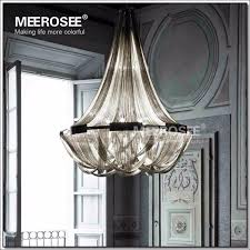 french empire chain chandelier light fixture for restaurant modern long chain hanging suspension drop re lamp chain light