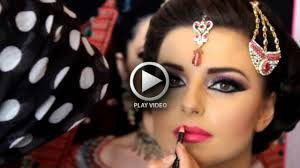 best ever indian stani bridal makeup tutorial by style inn dailymotion