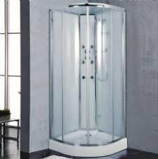 cabinets uk cabis: sydney mm quadrant hydro glass backed shower cabin with massage jets jt