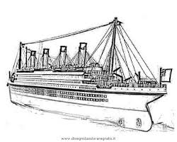 Nave Crociera Disegno Ein Schiff Zeichnen Migliori Pagine Da Colorare