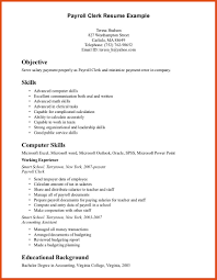 Howo Write Resume For Clerical Positions Make Position How To A