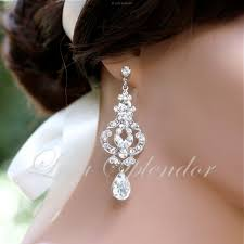 bridal earrings wedding lamevallar moved permanently gold chandelier drop jewelry vintage view larger diamond pendant