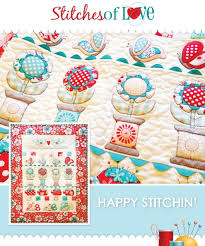Celebrate Sewing: 9 Delightful Spool Quilt Patterns and Projects & Happy Stitchin Pattern Adamdwight.com