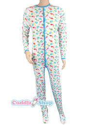 Adult Onesie Pattern Adorable Dinosaur Animal Pattern Adult Baby Grow Sleepsuit Romper Suit Full