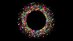 Animation Circles Modern Circles Rotation Animation Background 4k Video Motion