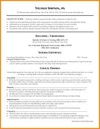 Nursing Resume Samples New Grad Examples 2017 Graduate Cna Sample