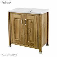 old london 2 door bathroom vanity unit with basin