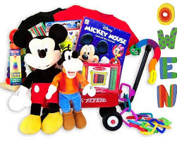 disney mickey mouse clubhouse baby gift basket personalized
