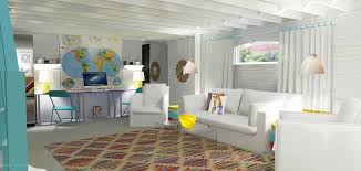 cool basement. Unfinished Basement Home Gyms Beach Style Medium Cool Ideas E
