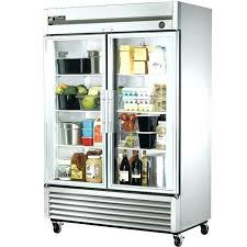 costco upright freezer glass front refrigerator scratch and dent poor true t glass door refrigerator glass