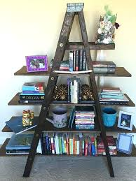 rustic ladder bookshelf antique ladder shelf rustic ladder bookshelf rustic ladder shelf