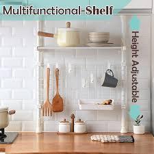 kitchen multifunctional shelf type a seasoning rack shelf kitchen storage