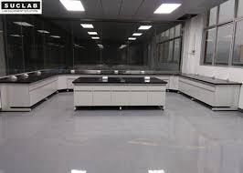 steel and wood school science laboratory furniture black marble countertop type