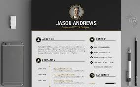 The Elegant Resume/CV Set Template is designed to make your printing  experience even better with neatly designed layout, CMYK color and layer  organization.